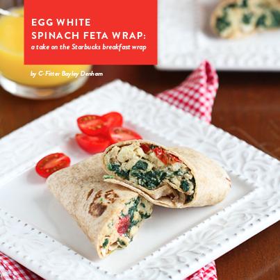 Foodie Friday Spinach Feta Wrap