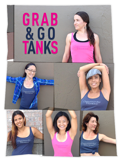 Community Fitness Merchandise - Tank Tops
