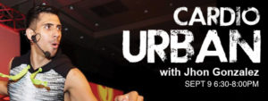 Cardio Urban Master Class with Jhon G - Click for link