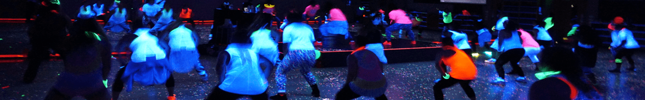 Black Light Event at Community Fitness