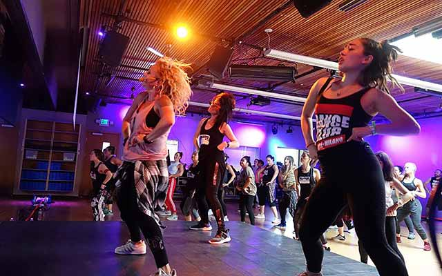 Dance Club Seattle at Community Fitness
