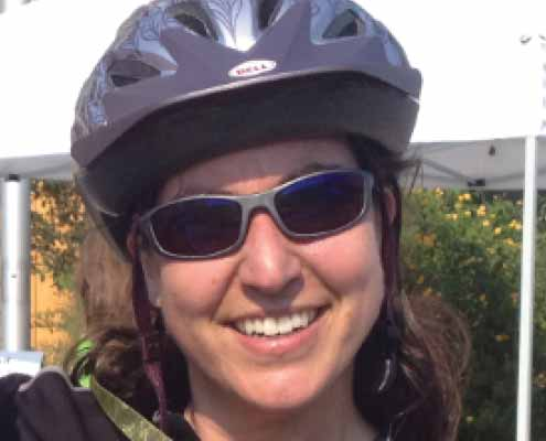 Kristin Adams is an Indoor Cycling instructor at Community Fitness