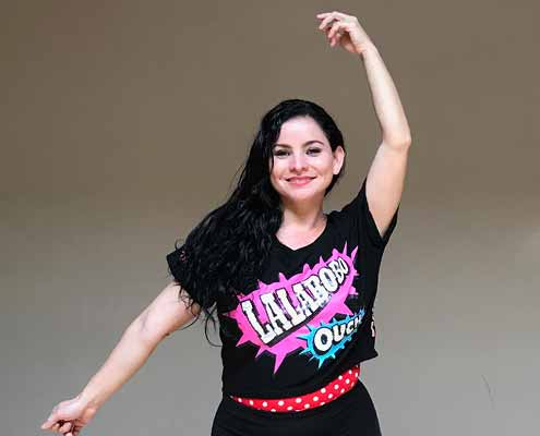 Maria Rico is a Zumba instructor at Community Fitness