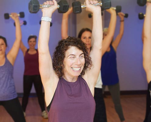 Workout with Sue Gallas Seattle Fitness Instructor