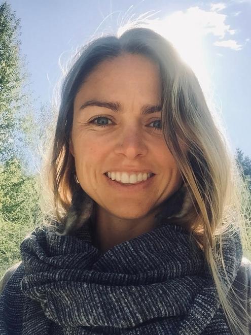 Tara Mixon teaches Barre classes at Community Fitness